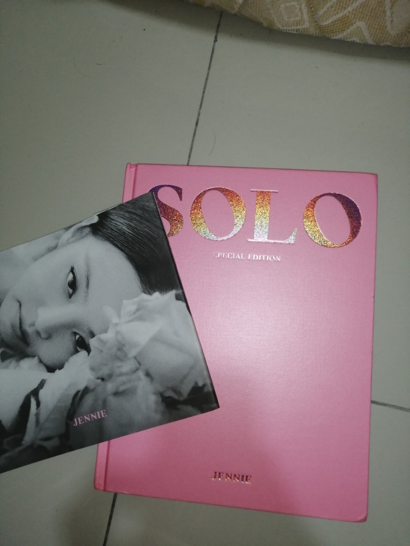【Fast WTS】BLACKPINK JENNIE OFFICIAL SOLO SPECIAL EDITION OFFER
