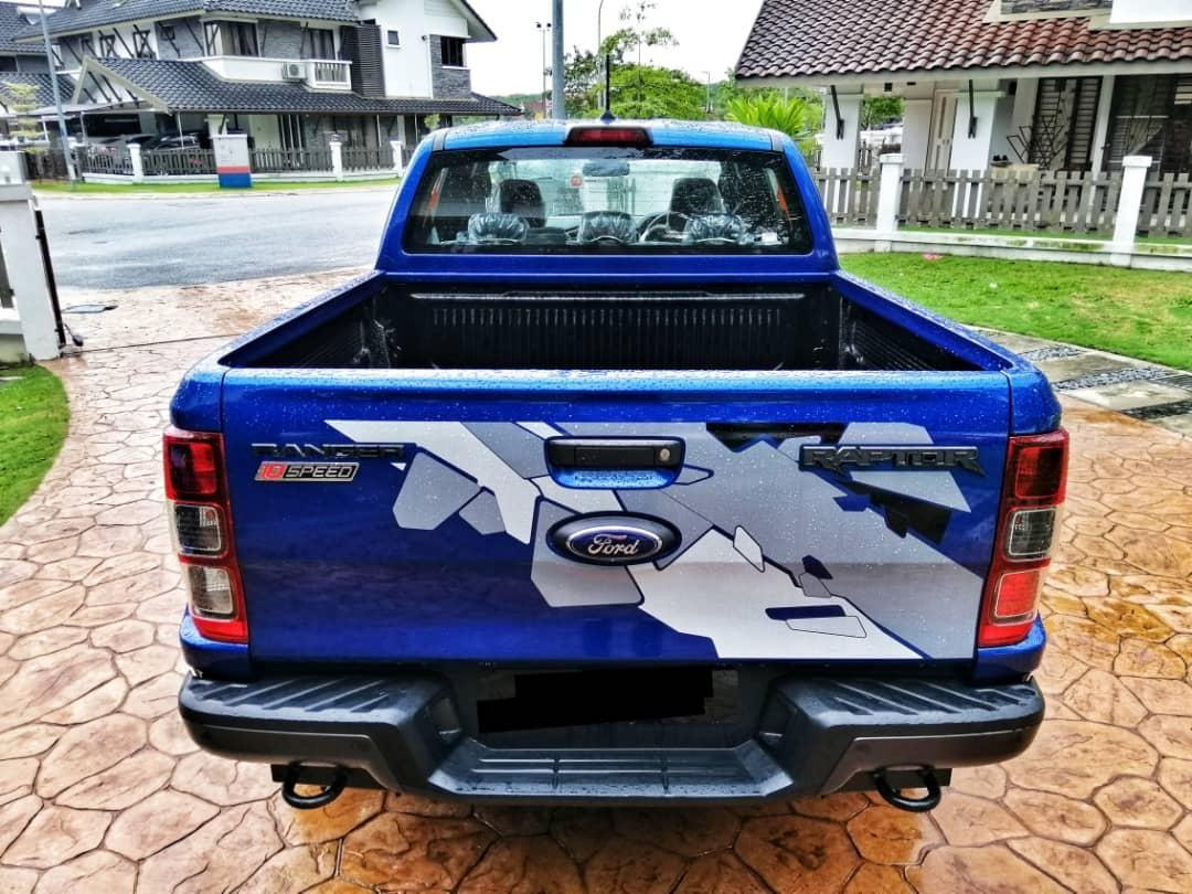 FORD RANGER RAPTOR 4WD 2.0 (10 AT) L BI TURBO 2019/2020