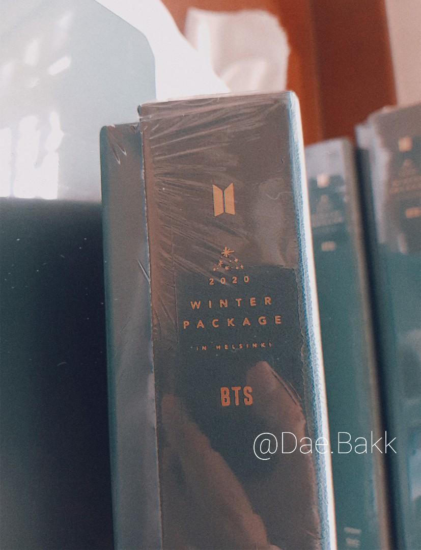 (FULL SET) BTS Winter Package Album (See Info More Detail)