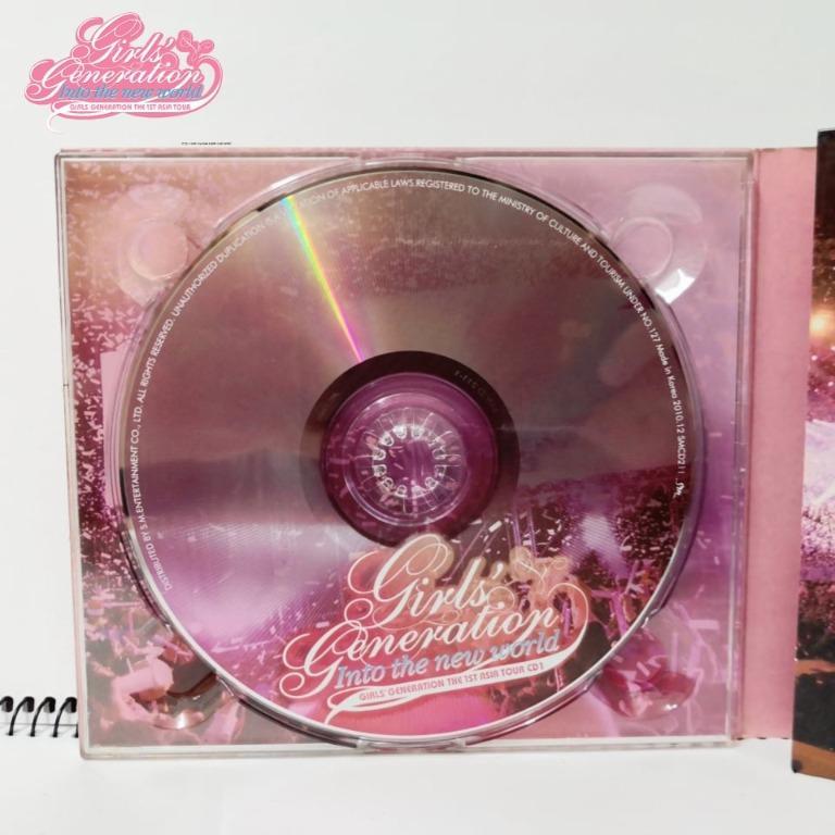 "Girl's Generation "" Into The New World 1"" CD Album"