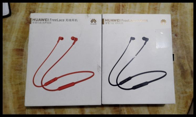 Huawei FreeLace wireless headset with quality assurance and integrity management
