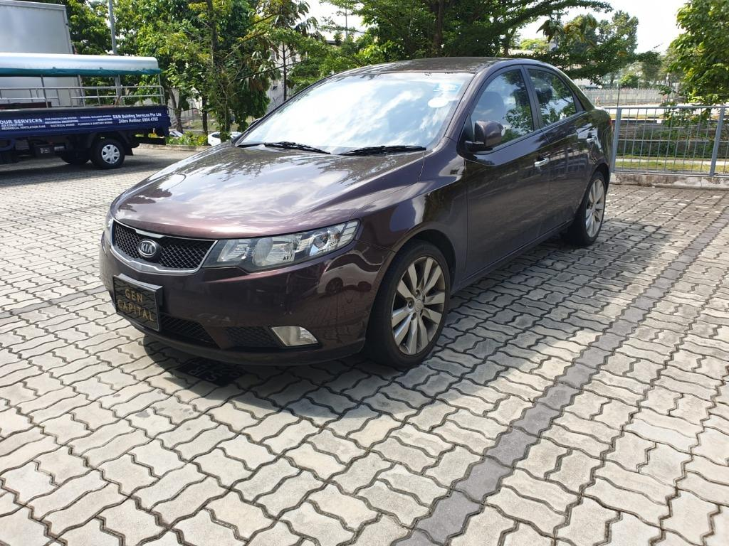 Kia Cerato CNY DAY 15 SPECIAL PROMO! Cheapest rental in town with just $500 Deposit driveoff immediately. Whatsapp 85884811 now to reserve!