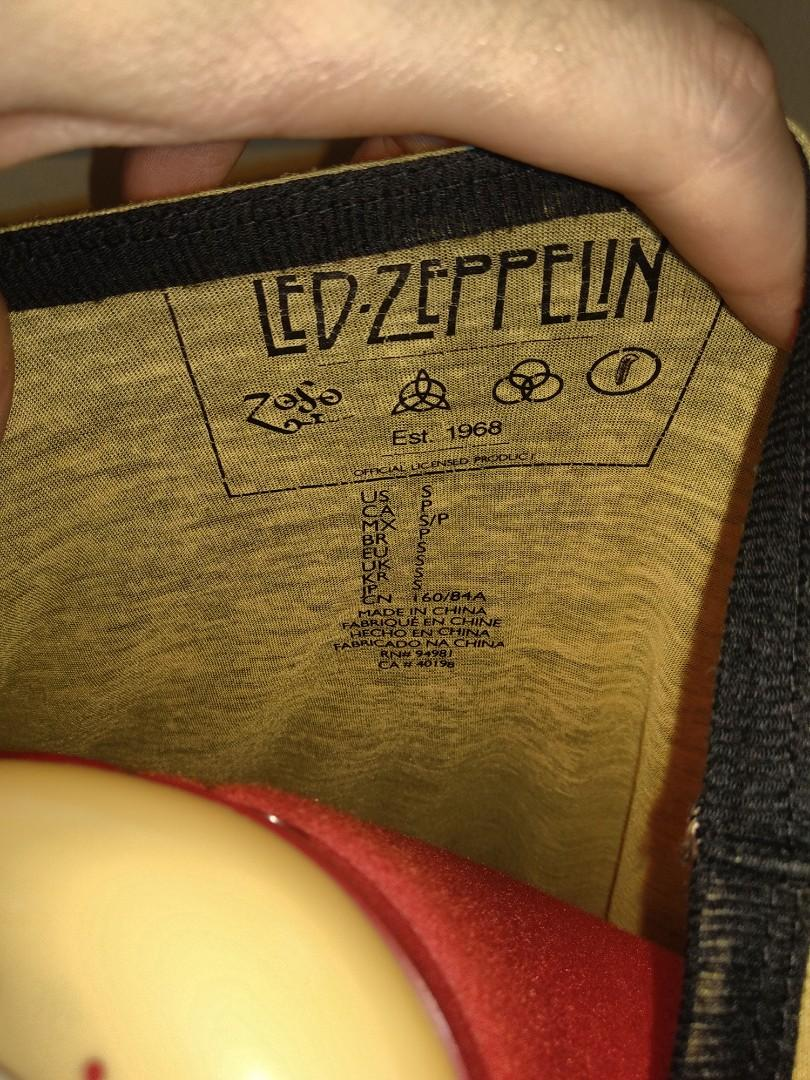 Led zeppelin united states of America 1977 shirt small