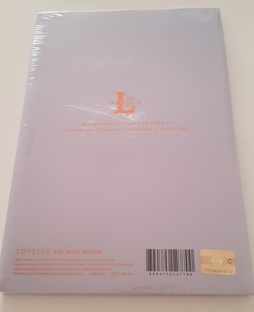 [Lovelyz] Mini Album Vol.6 ONCE UPON A TIME - Group Version