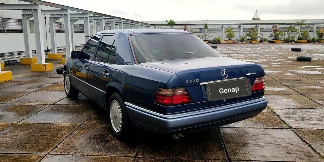 Mercedes BENZ E320 masteepiece W124 MT 1994 barang simpanan