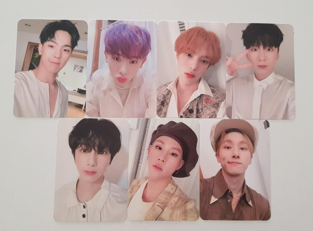 [MONSTA X] Follow: Find You Album Photocard - Starship Benefit