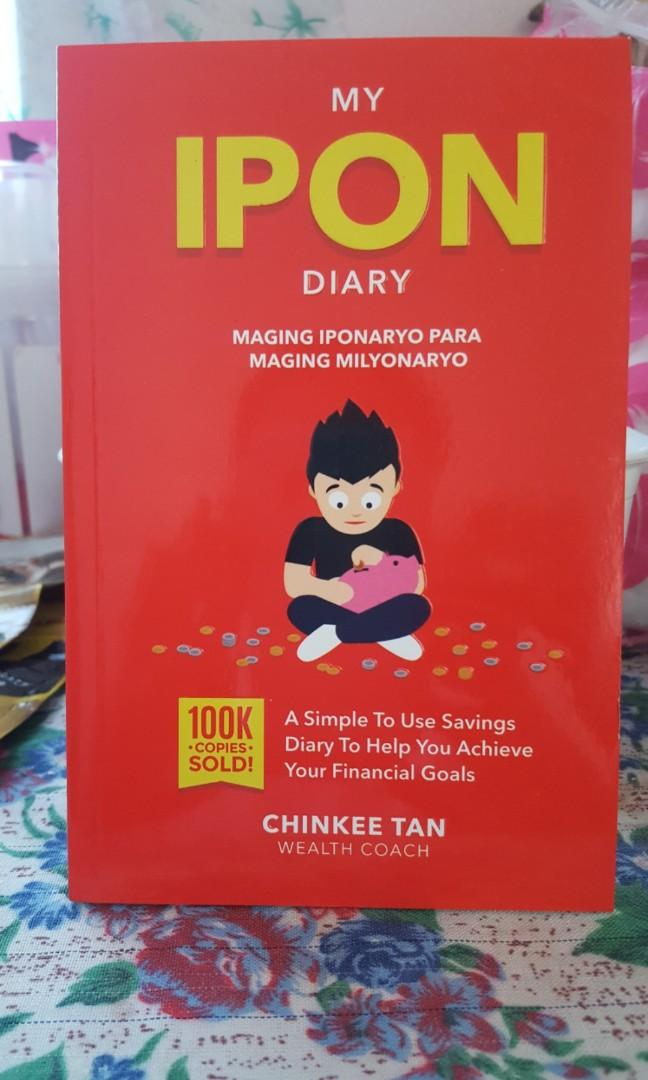 My Badyet Diary, My Ipon Diary, Diary of a Pulubi Books by Chinkee Tan