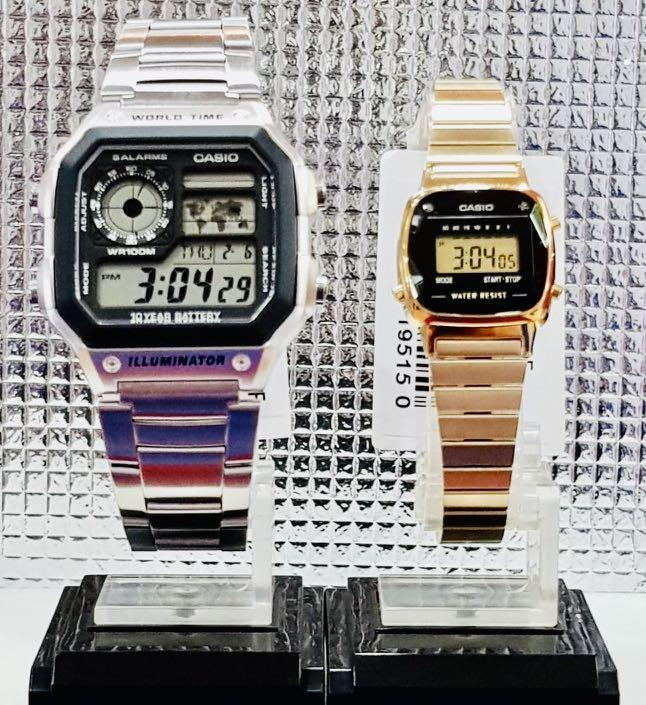 NEW🌟COUPLE💝SET : CASIO UNISEX DIVER SPORTS WATCH  : 100% ORIGINAL AUTHENTIC BABY-G-SHOCK ( GSHOCK ) Company :