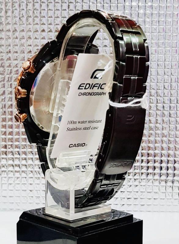NEW🌟COUPLE💝SET : EDIFICE🌟SHEEN DIVER UNISEX SPORTS WATCH  : 100% ORIGINAL AUTHENTIC CASIO BABY-G-SHOCK : EFR-559DC-1B + SHE-3068PG-4B