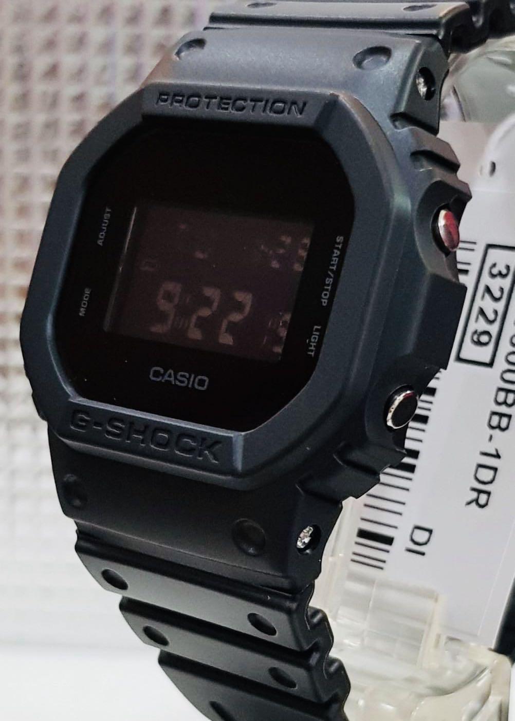 NEW🌟COUPLE💝SET : GSHOCK🌟BABYG DIVER UNISEX SPORTS WATCH  : 100% ORIGINAL AUTHENTIC CASIO BABY-G-SHOCK : DW-5600BB-1 + GA-100BR-1A
