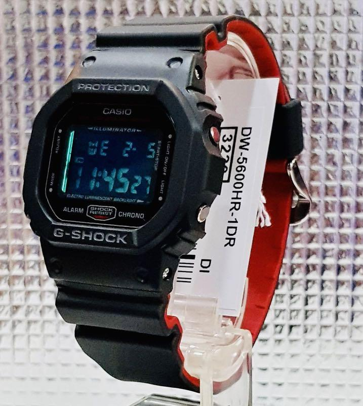 NEW🌟COUPLE💝SET : SHEEN BABYG + GSHOCK + DIVER UNISEX SPORTS WATCH  : 100% ORIGINAL AUTHENTIC CASIO BABY-G-SHOCK : DW-5600HR-1 +