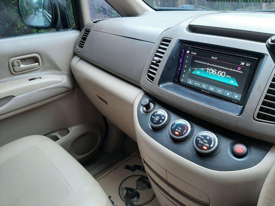 Nissan Serena 2008 Ct a/t pajak panjang orisinil bagus