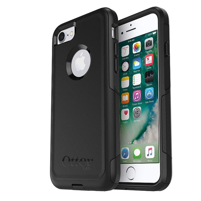 Otterbox Commuter Series for iPhone 7/8, Compatible with 6/6S (Black)