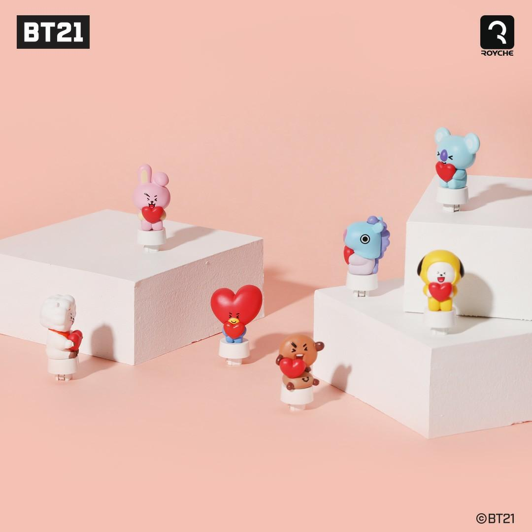 (PO) Official BTS BT21 x Royche Keyboard Figure Keycap