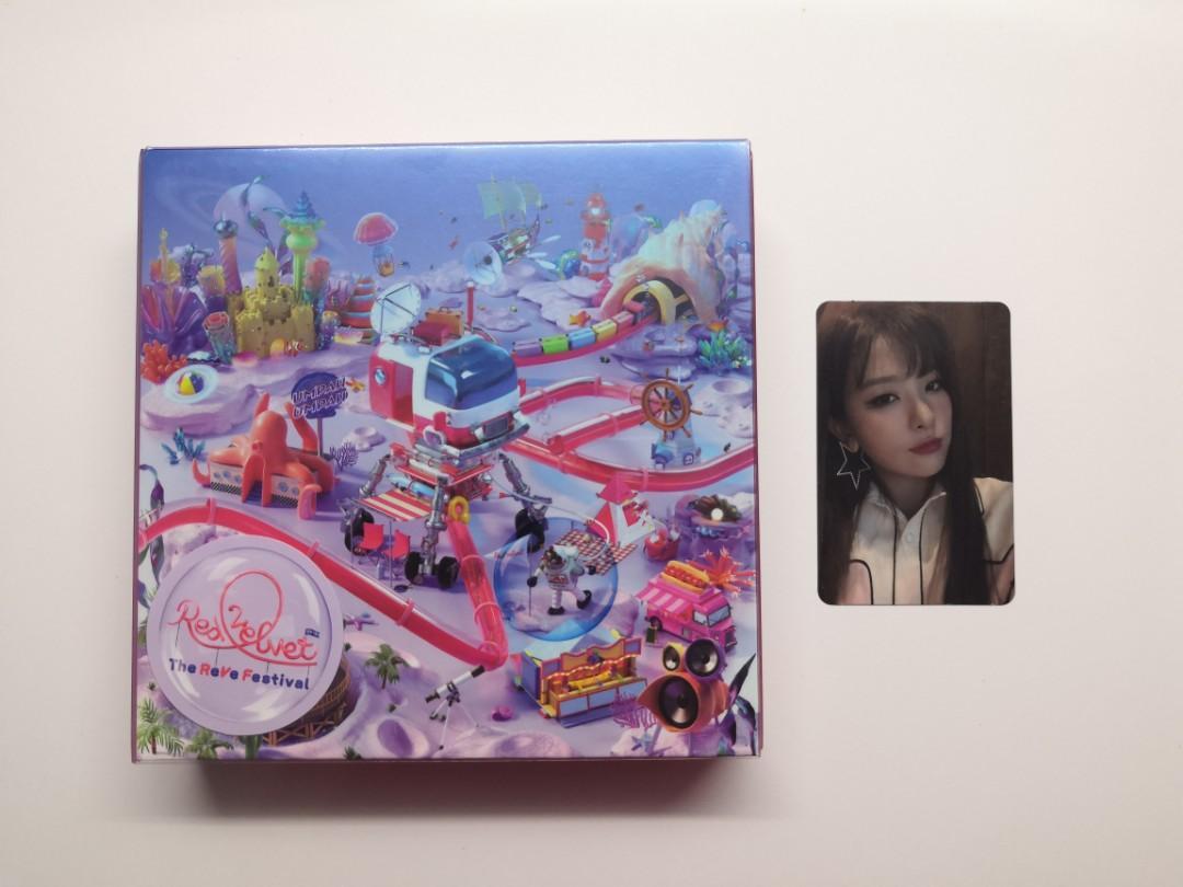 Red Velvet The ReVe Festival Day 2 Album + Photocard