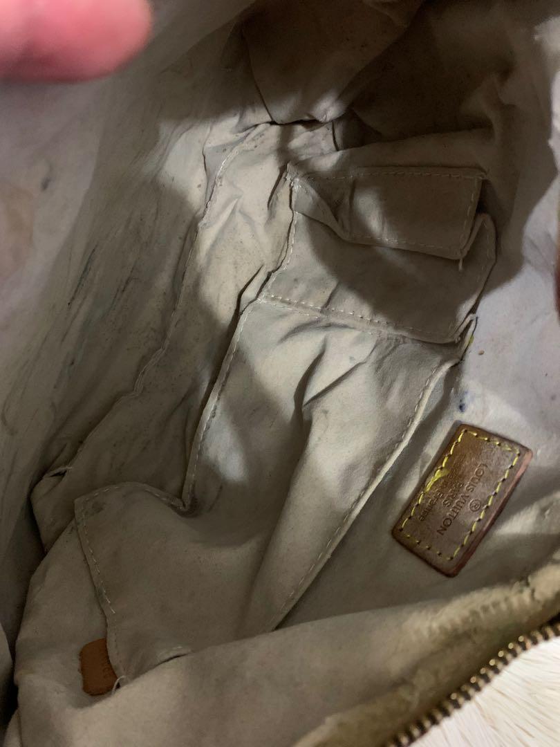 Shoulder bag LV vip mirror 1:1, kondisi 80% OK, dalam agak kotor dan sedikit kikis, size 30 cm bag onlh