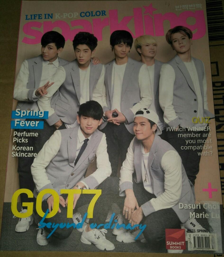 Sparkling Magazine (Spring 2015 Edition - Got7 & Boys Republic)