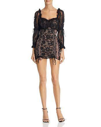 SWAP for love and lemons monroe mini dress for a size small