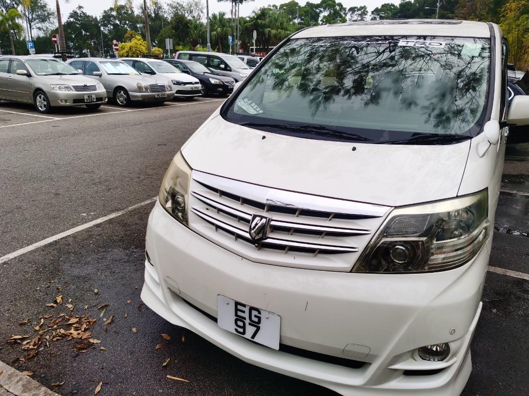 Toyota Alphard 8座(連司機) 非中港 Auto