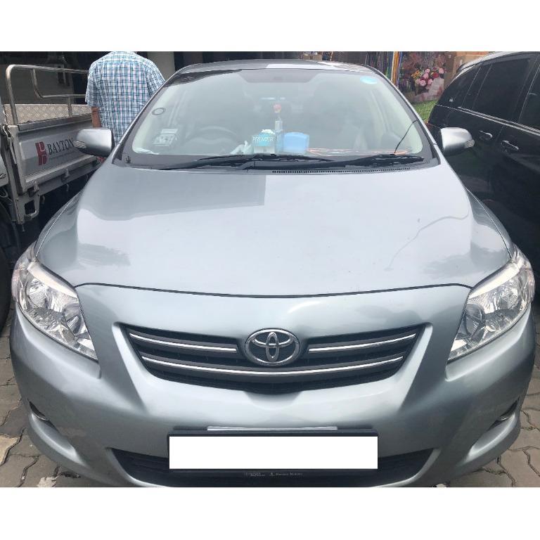 Toyota Altis for Rent (Grab, Go-jek, PDVL) Car for rent