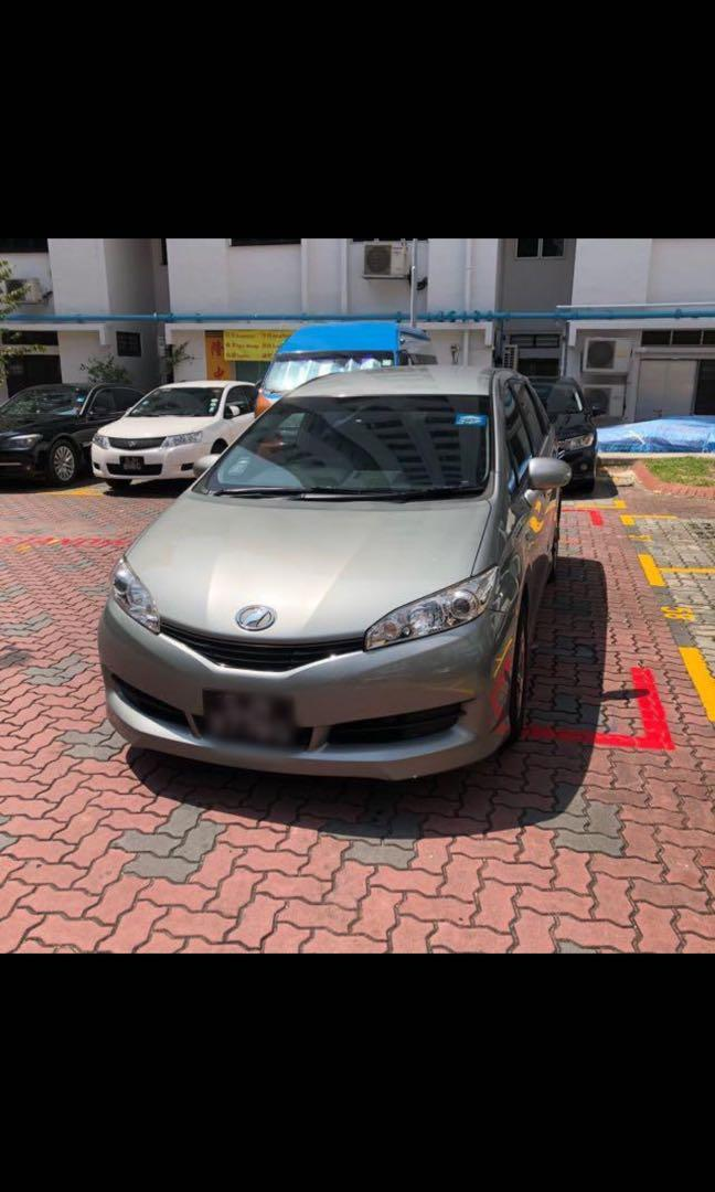 Toyota Wish for Grab/Gojek/Personal Use