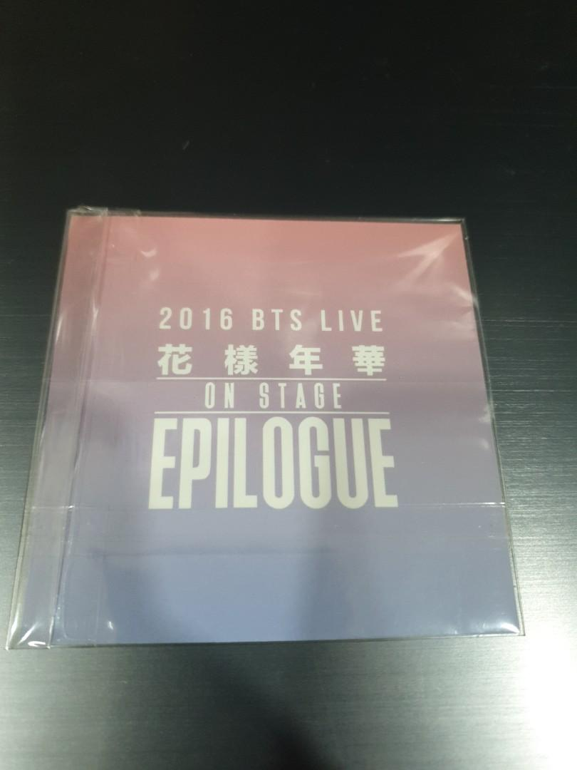 (WTS) BTS OFFICIAL PHOTOCARD JUNGKOOK 2016 BTS LIVE ON STAGE EPILOGUE