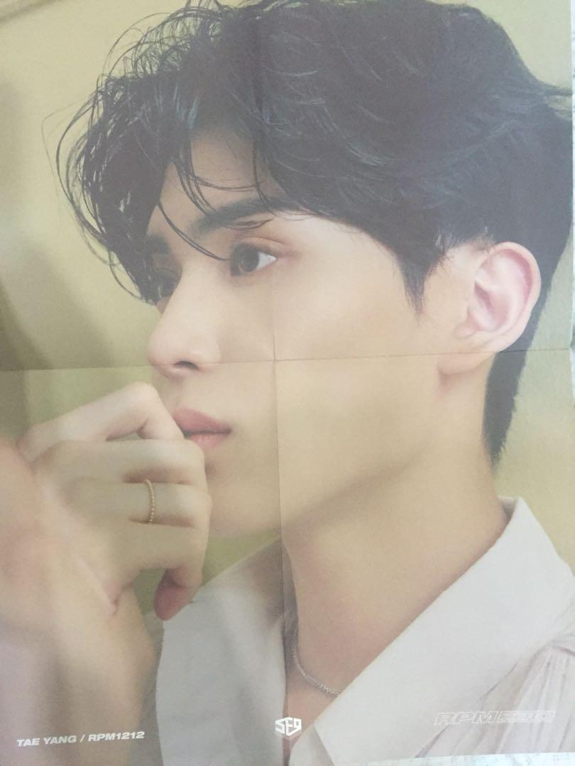 (WTS/WTT) SF9 RPM ZERO Taeyang pc poster Jaeyoon id