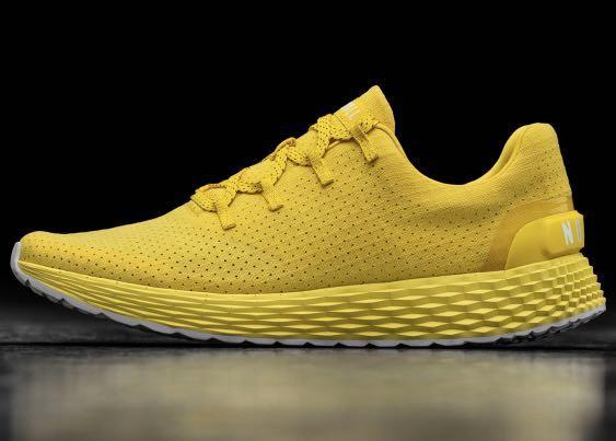 Yellow Nobull running Trainers