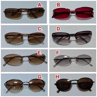全新 太陽眼鏡 現貨出清 墨鏡 彩色鏡面 防曬 眼鏡