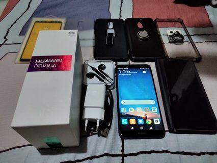 Huawei Nova 2i (Blue) with freebies