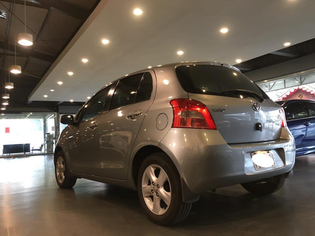 2008 Toyota Yaris 1.5 G版 金勾錐~金賀開~視線好死角少··