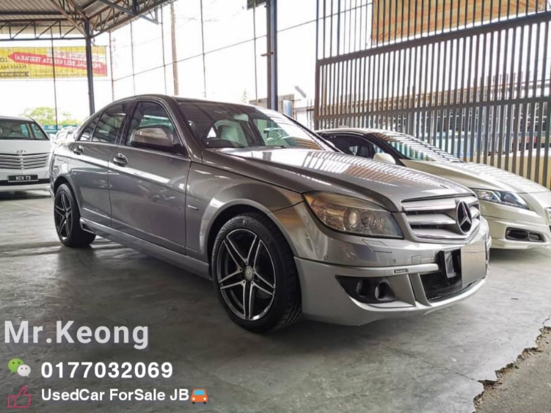 2008TH 🚘MERCEDES BENZ C200K 1.8AT Brabus CARKING W204 Cash OfferPrice💲Rm43,800 Only🚨️️Lowest Price InJB 🎉Call📲 KeongForMore‼🤗Customer Trade In Good Condition Car🚘