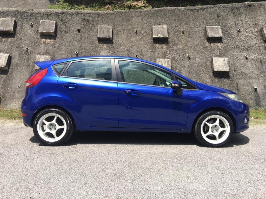 2011 Ford FIESTA 1.6 SPORT (A) B/L LOAN KEDAI DP 1-3K