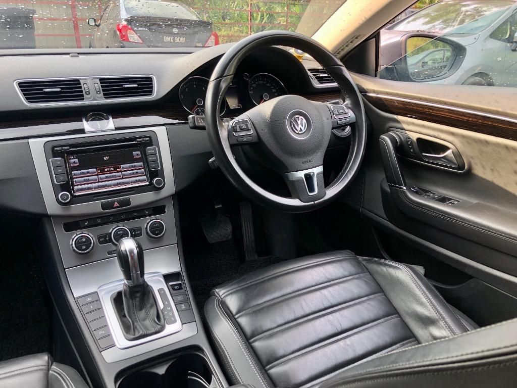 2012 Volkswagen CC 1.8 Sport Coupe (A) FULL LOANSUPER OFFER PROMOTION