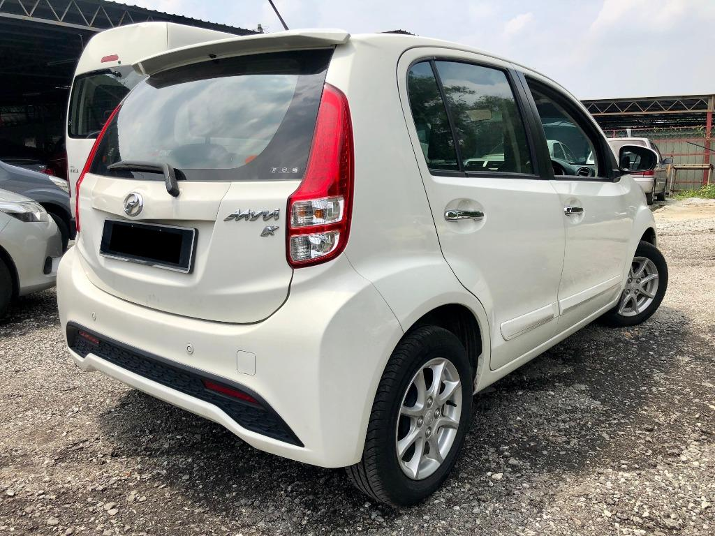 2015 Perodua Myvi 1.3 X Hatchback (A) F/S RECORD SUPER YEAR PROMOTION