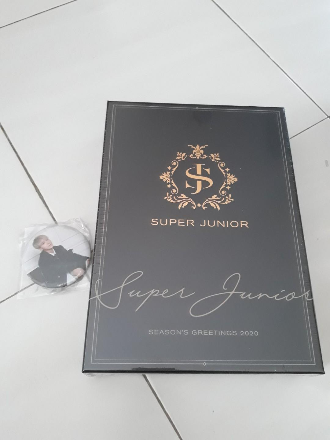 [ READY STOCK] SUPER JUNIOR 2020 SEASONS GREETINGS