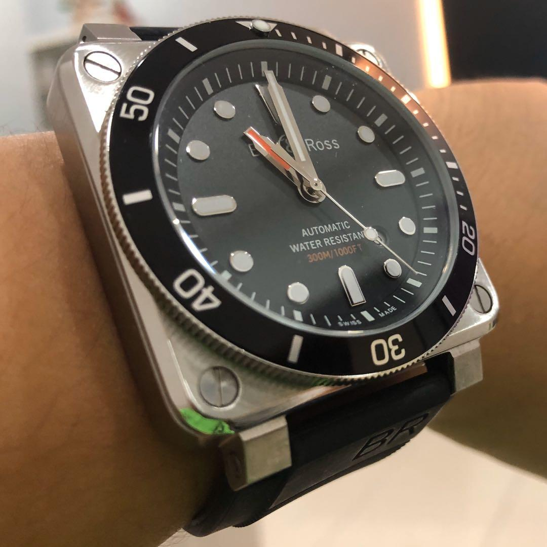 Bell and Ross BR03-92 Diver (not seiko rolex gshock panerai omega casio)