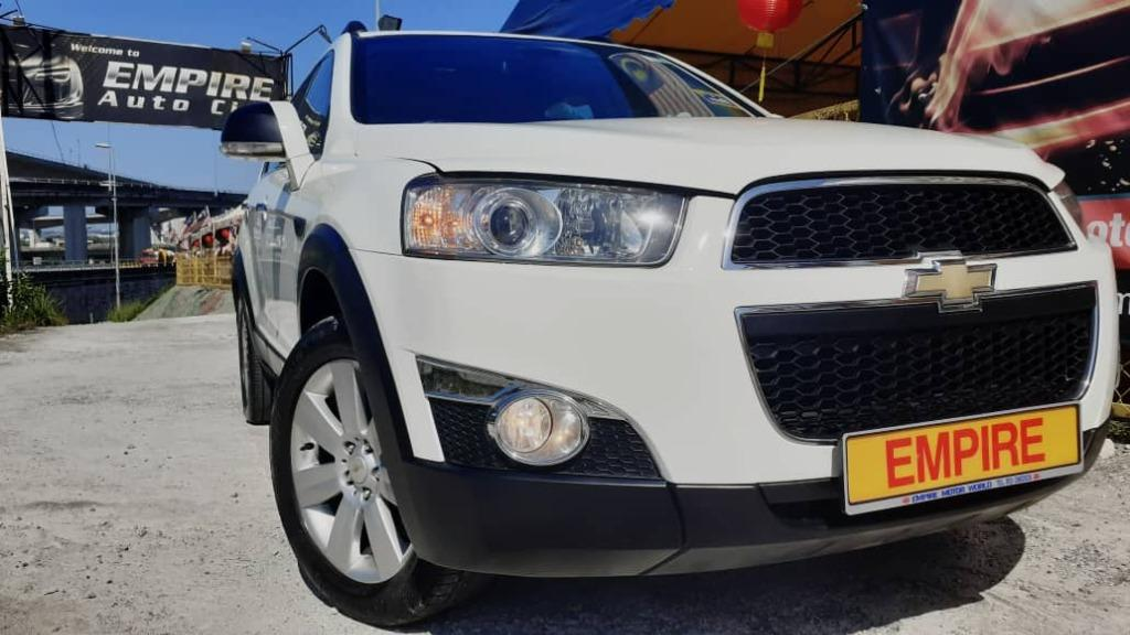 CHEVROLET CAPTIVA 2.4 L (A) ECO TEC !! PREMIUM 7 SEATERS SUV !! AWD !! CBU !! NEW FACELIFT LIMITED EDITION !! PREMIUM FULL HIGH SPECS !! ( WXX 3546 ) 1 CAREFUL OWNER !!