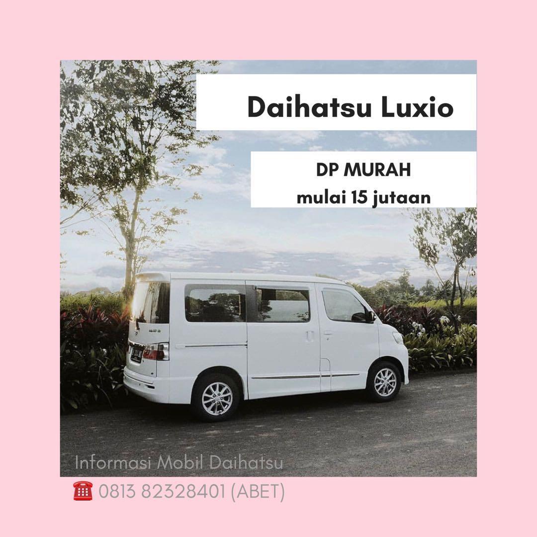 DP MURAH Daihatsu Luxio mulai 15 jutaan. Daihatsu Pamulang