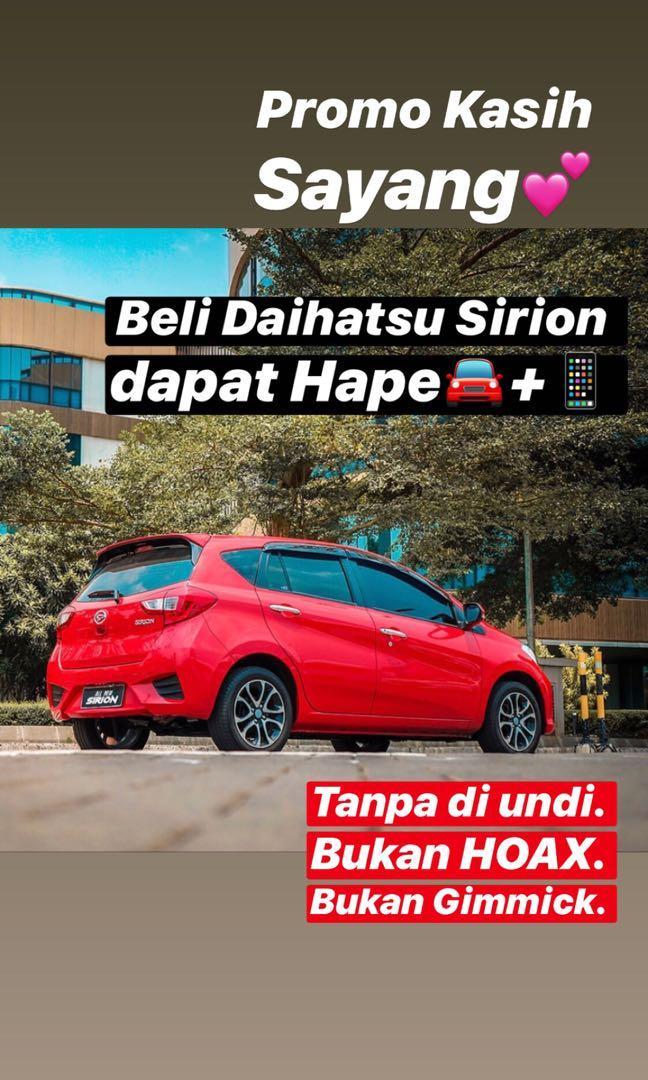 DP MURAH Daihatsu Sirion mulai 18 jutaan. Daihatsu Pamulang