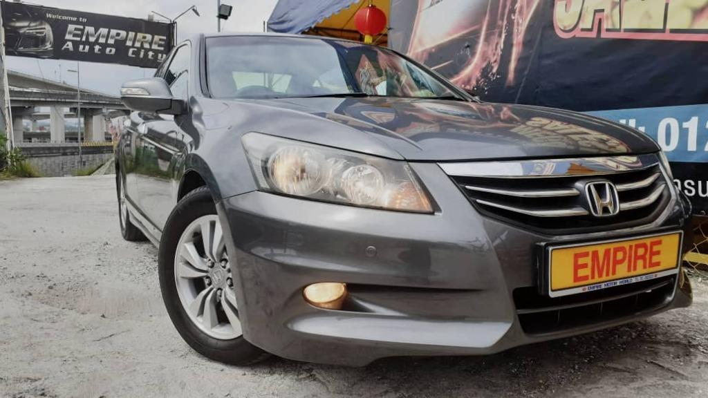 HONDA ACCORD 2.0 L (A) SEDAN I-VTEC VTI-L PREMIUM EXECUTIVE !! LIMITED EDITION !! NEW FACELIFT !! PREMIUM EXECUTIVE FULL HIGH SPECS !! ( WXX 1881 ) 1 CAREFUL OWNER !!