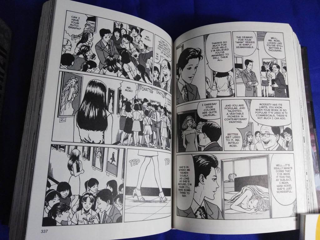 Junji Ito's Tomie, Gyo, Uzumaki, Shiver, Yon and Mu, Dissolving Classroom
