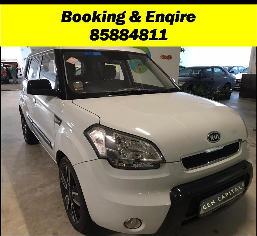 Kia Soul. To fight recent Novel Coronavirus, we have lowered our rental rates for you to travel with a peace of mind! Just $500 Deposit driveoff immediately. Whatsapp 85884811 for special rates!!