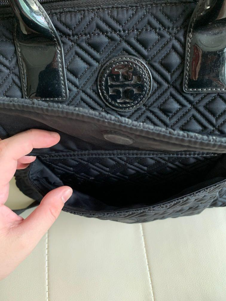 Luxury Tory Burch Tote Bag / Premium Handbags / Laptop A3 Fabric Shopping Bag / Office Lady Formal Business Use / Versatile Sling or Handcarry
