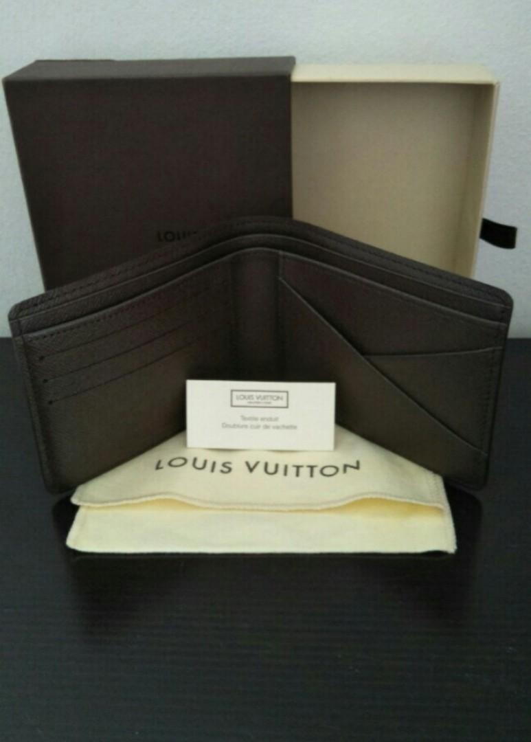 ❤Sale♥ Valentine's Day Sale❤Authentic Louis Vuitton Wallet N60895 Damier Ebene Canvas Multiple Wallet❤ For Her ♥For Him