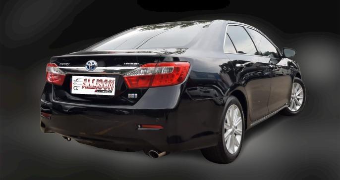 Toyota New Camry 2.5 HYBRID AT 2012 Hitam Km 77 Rb Dp 40,9 Jt No Pol Ganjil