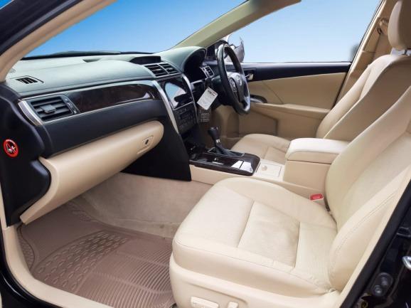 Toyota New Camry 2.5 V AT 2017 Hitam Rec Serv, DP 88,9 Jt No Pol Ganjil