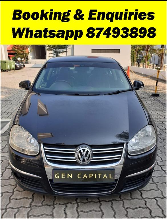 Volkswagen Jetta TSI Most fuel efficient & spacious! Cheapest rental in town with just $500 Deposit driveoff immediately. Whatsapp 85884811 now to reserve!
