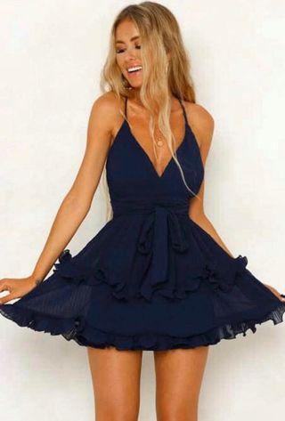 Size 10 Blue Dress