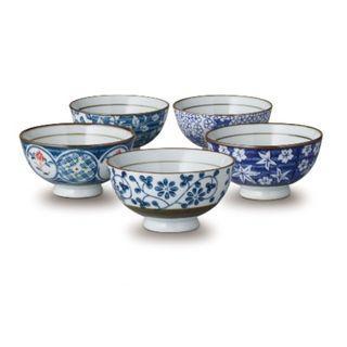 日式 和風 五入 瓷碗